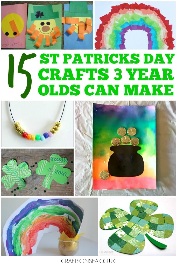 ST PATRICKS DAY CRAFTS 3 YEAR OLDS CAN MAKE