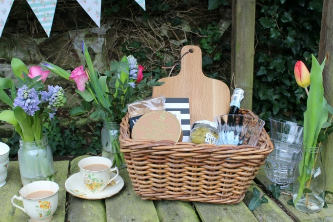john lewis foodie hamper with tea
