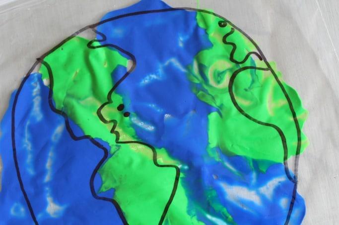 earth day sensory play