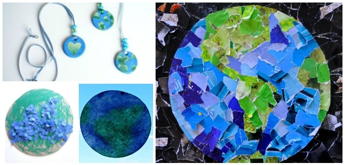 easy earth day crafts for kids