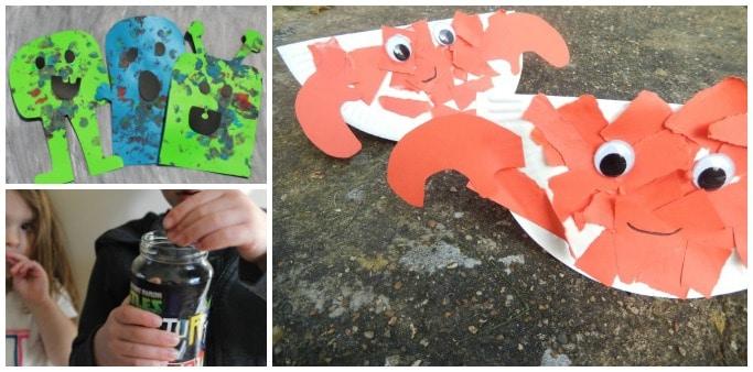 kids crafts using office supplies