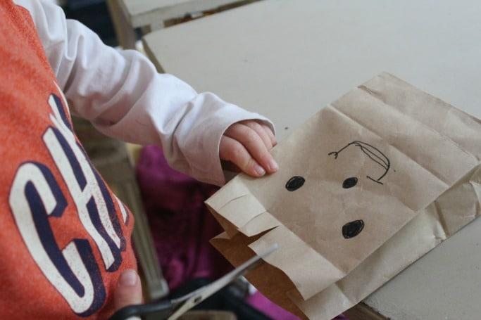 kids scissor skills craft