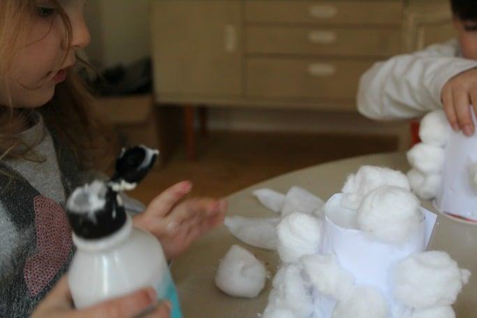 sheep craft for preschoolers