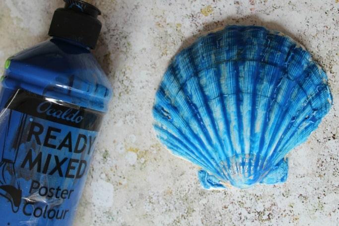 whale sea shell craft idea