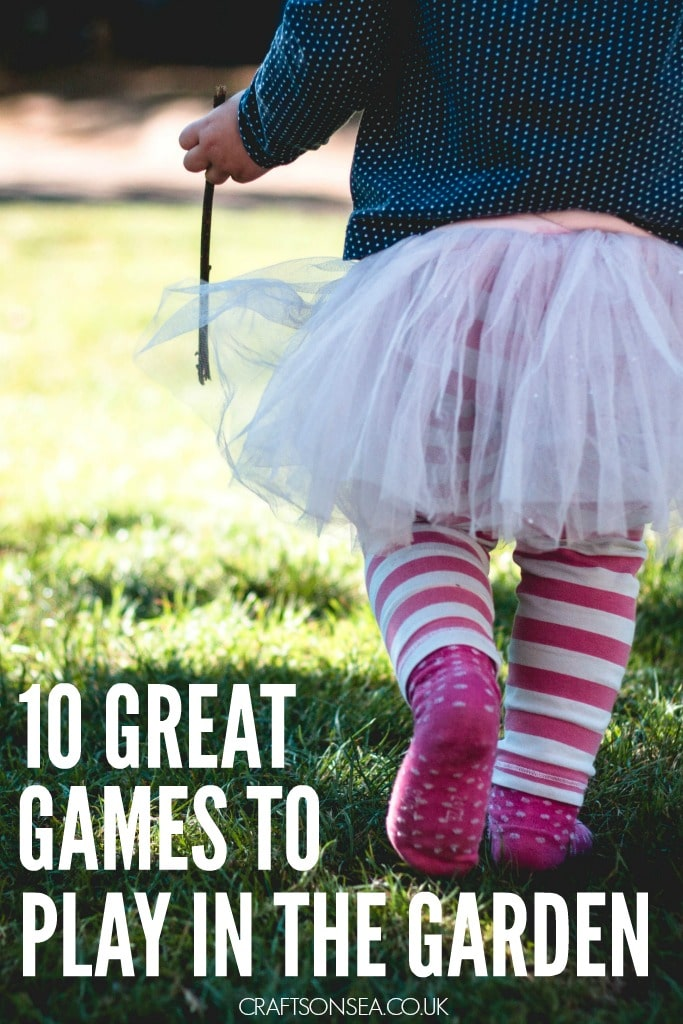 10 great games to play in the garden