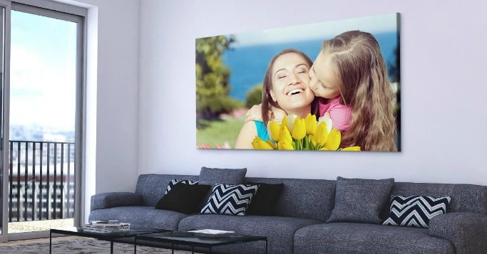canvas print family picture
