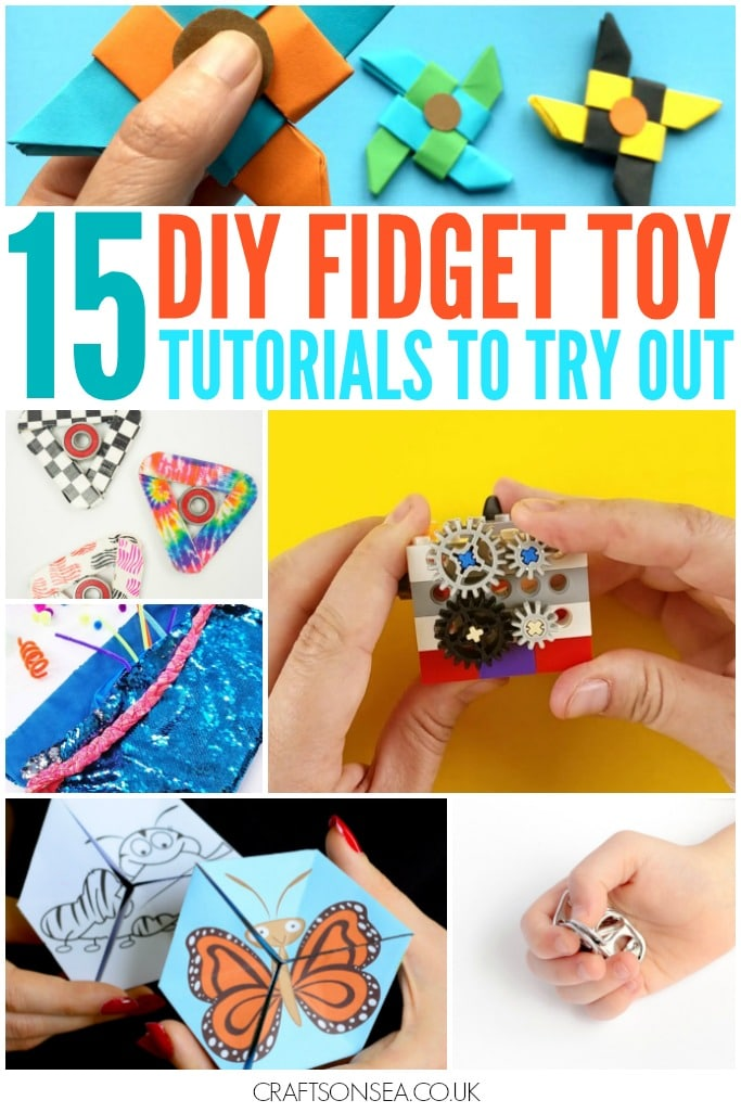 diy fidget toy tutorials