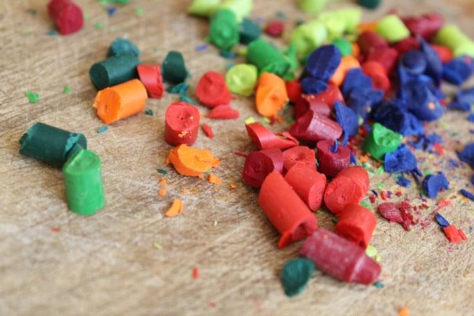 diy lego crayons tutorial