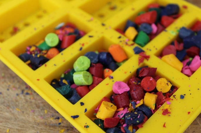 lego ice cube mold for crayons