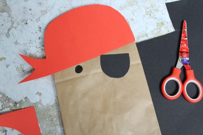 paper bag crafts pirate
