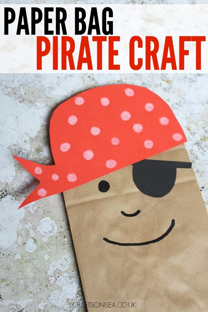 paper bag pirate