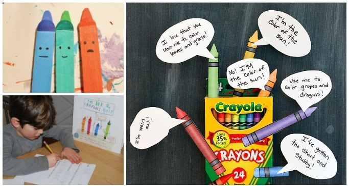 The Day The Crayons Quit Activities for Kids - Crafts on Sea