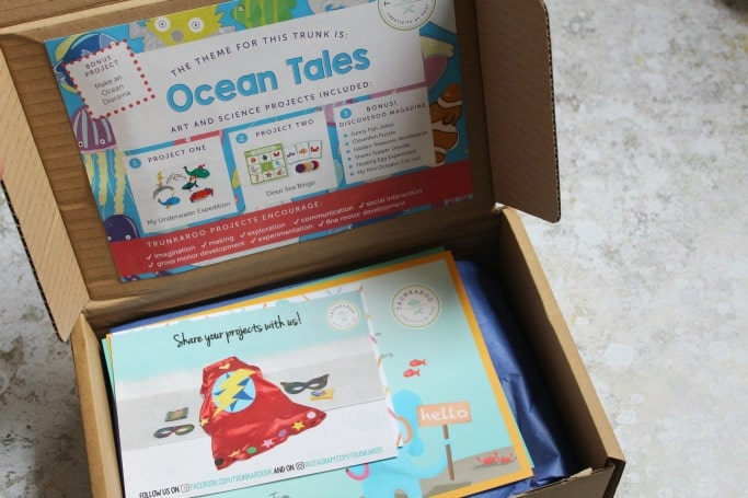 trunkaroo ocean activities box