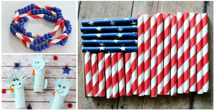 4th july crafts for kids easy