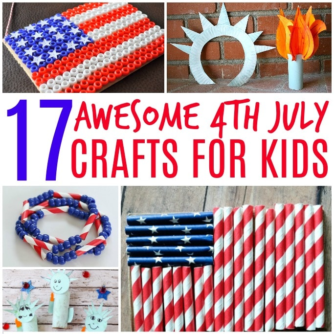 4th july crafts for kids square