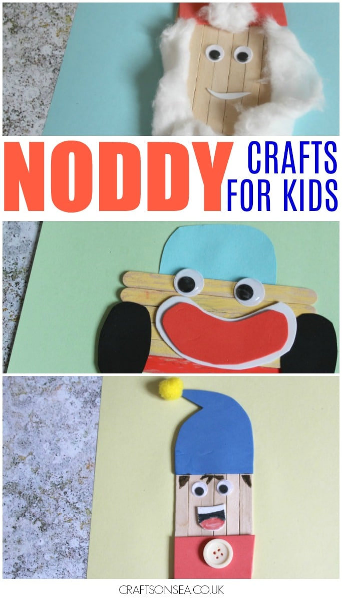 noddy crafts for kids enid blyton