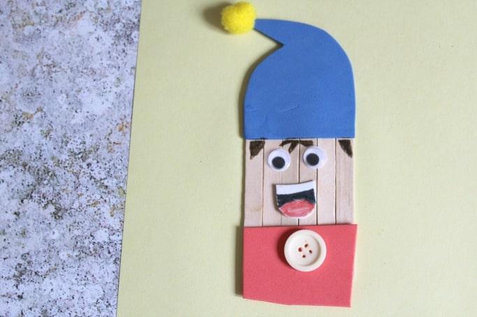 noddy crafts for kids foam craft stick
