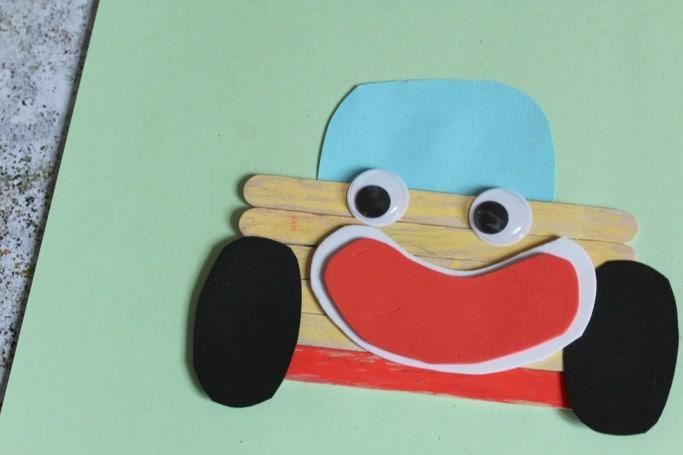 noddy crafts for kids noddys car