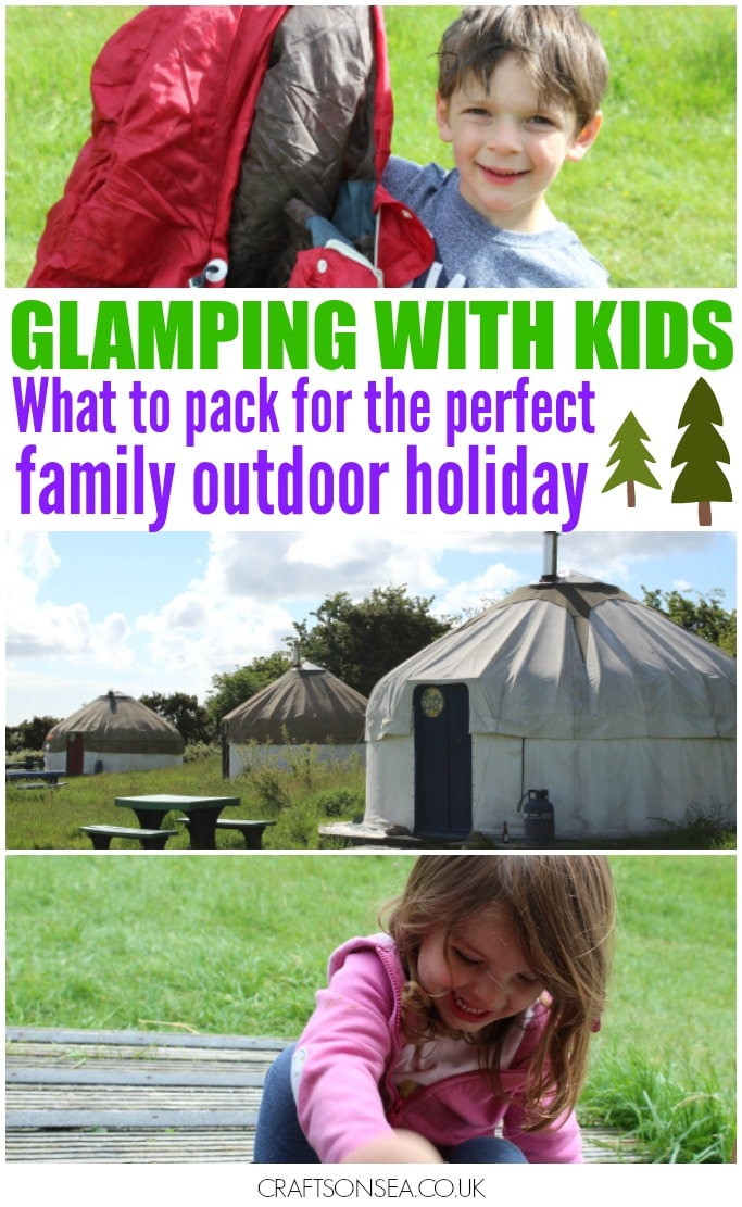 what to take glamping with kids camping family holiday