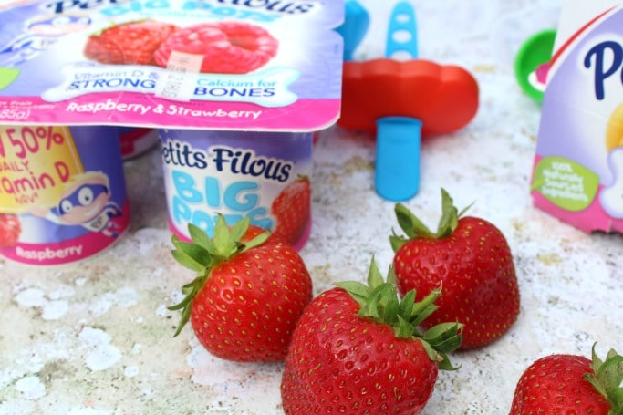 frozen yogurt ice lollies ingredients