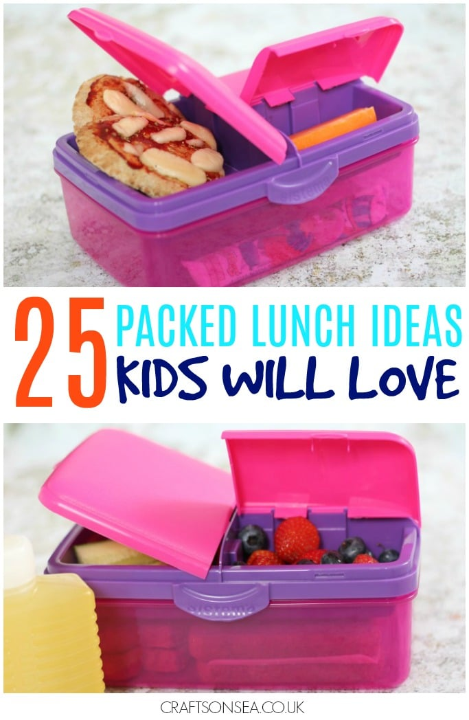 packed lunch ideas kids will love