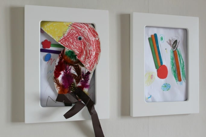 picture frames for kids art