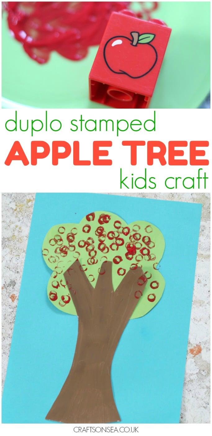 DUPLO APPLE TREE KIDS CRAFT