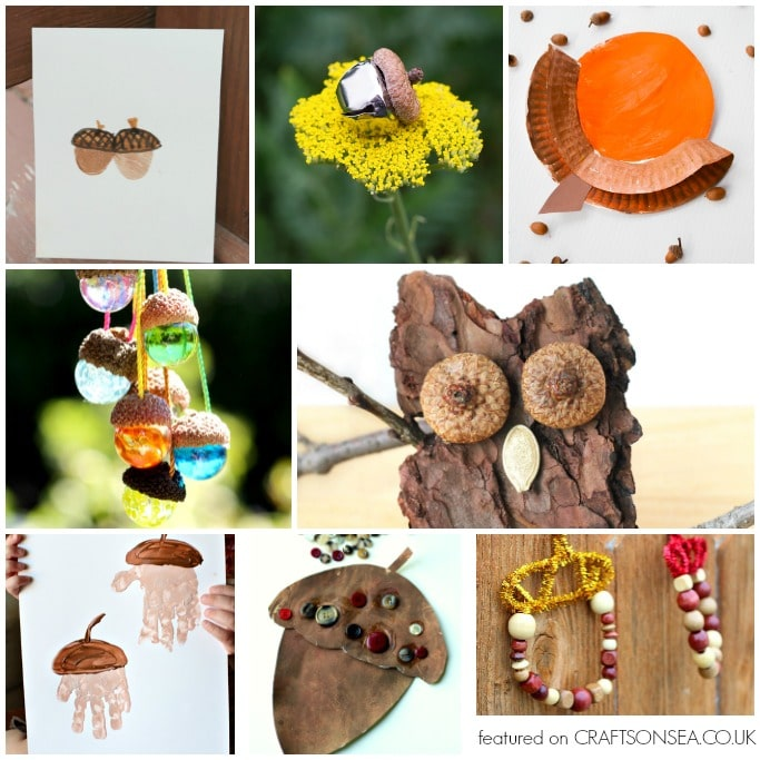 acorn crafts and activities for kids