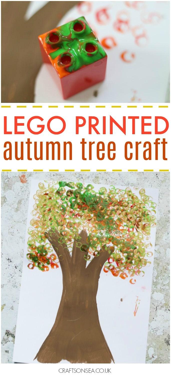 easy autumn tree craft