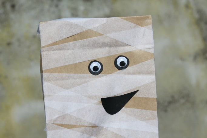 paper bag mummy