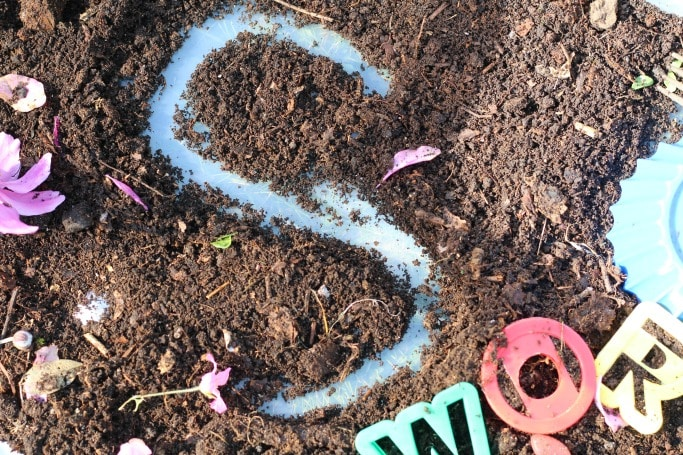 superworm sensory play literacy