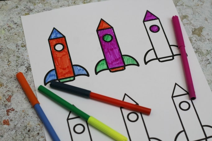 Goodnight spaceman craft free printable