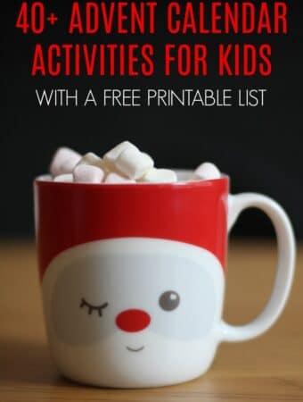 advent calendar ideas activities diy for kids