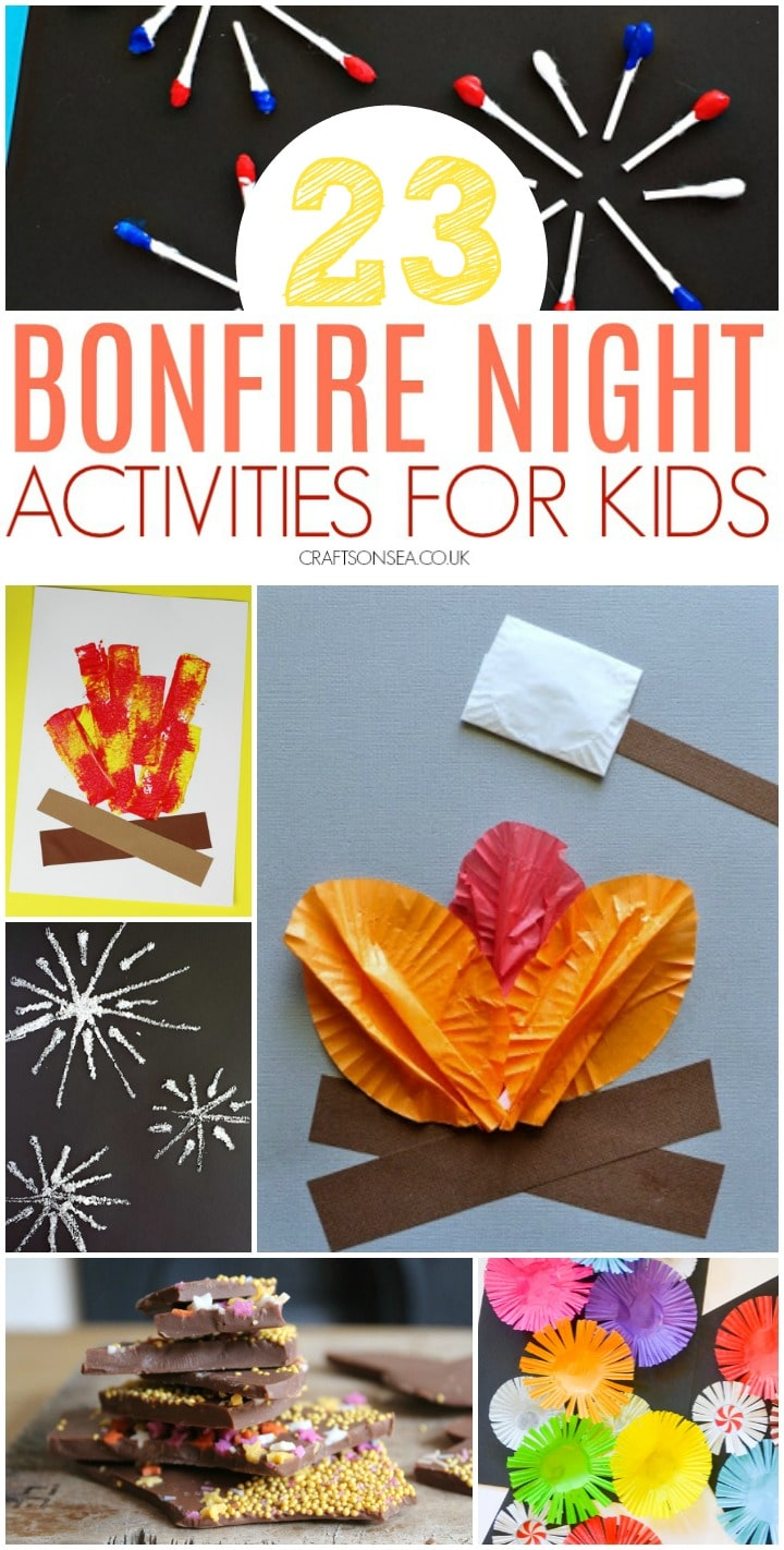 bonfire night activities for kids easy preschool fun