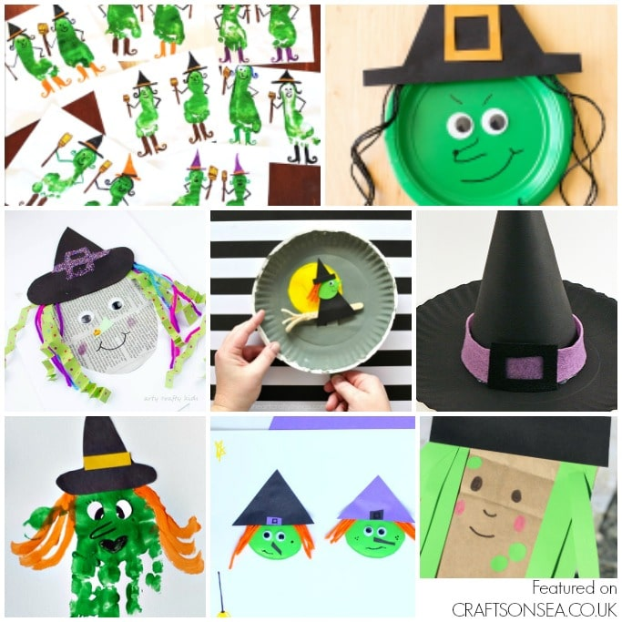 easy witch crafts for kids