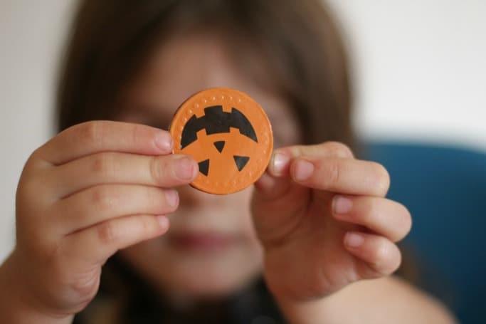 poundworld halloween chocolate coin
