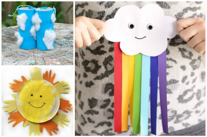 25 Weather Crafts And Activities Kids Will Love Crafts On Sea