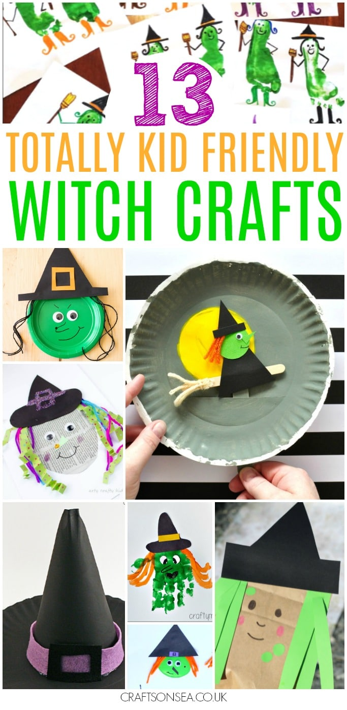 witch crafts for kids