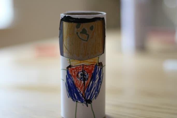 zombie craft made my kids