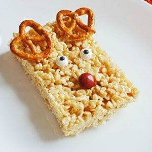 Reindeer Rice Krispie Treats 300