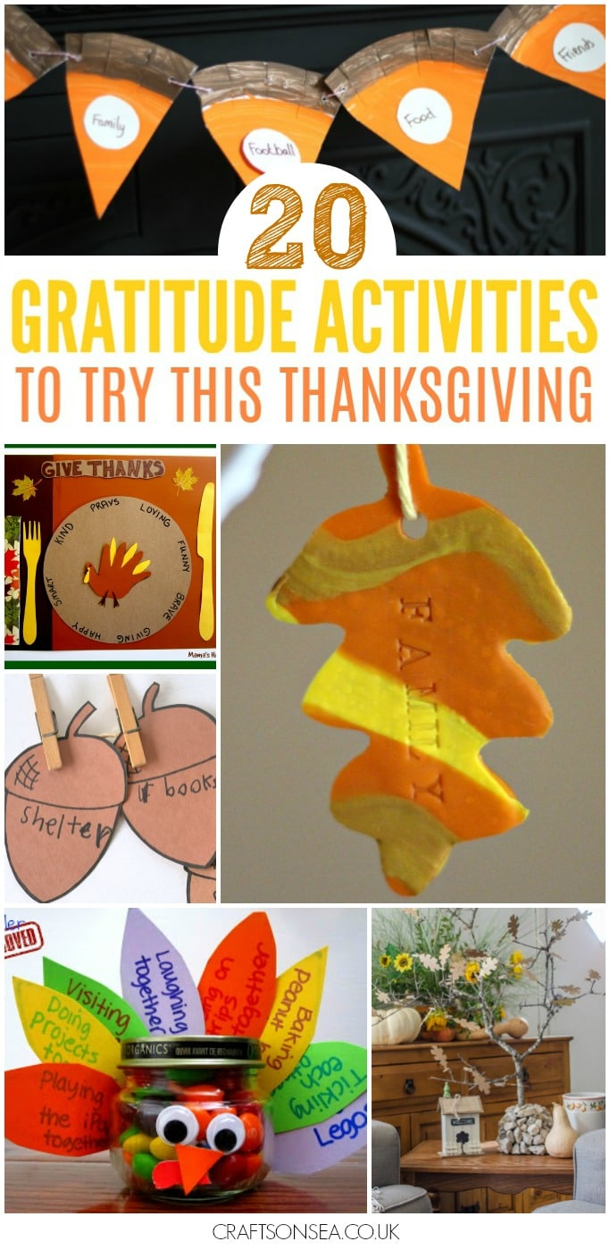 Thanksgiving Gratitude Activities for Kids