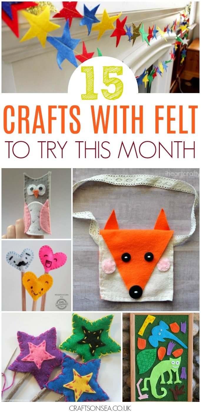 crafts with felt diy