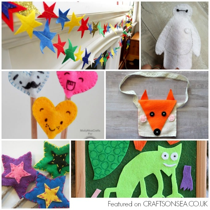 crafts with felt easy