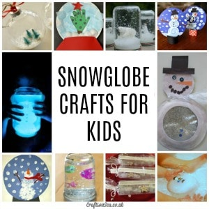 snowglobe crafts for kids 300