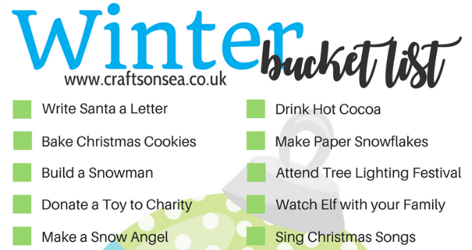 winter bucket list for families