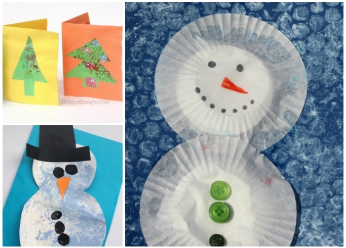 bubble wrap christmas crafts for kids