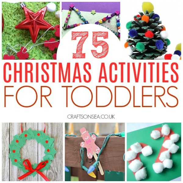 christmas activities for toddlers crafts sensory play