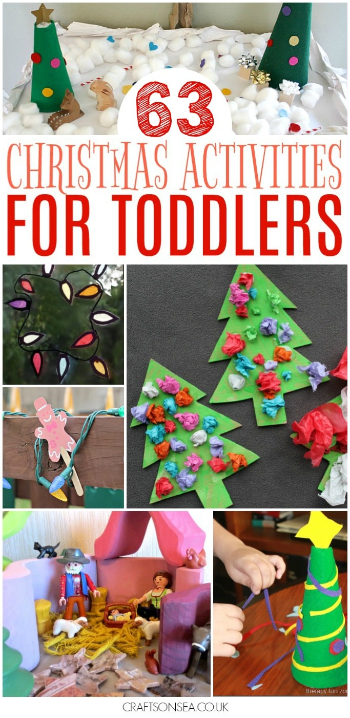 christmas activities for toddlers easy eyfs