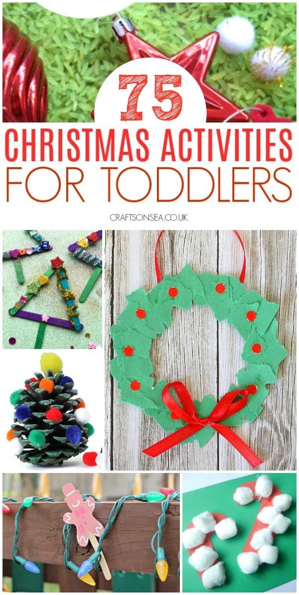 christmas activities for toddlers preschool #christmascrafts #christmasactivities