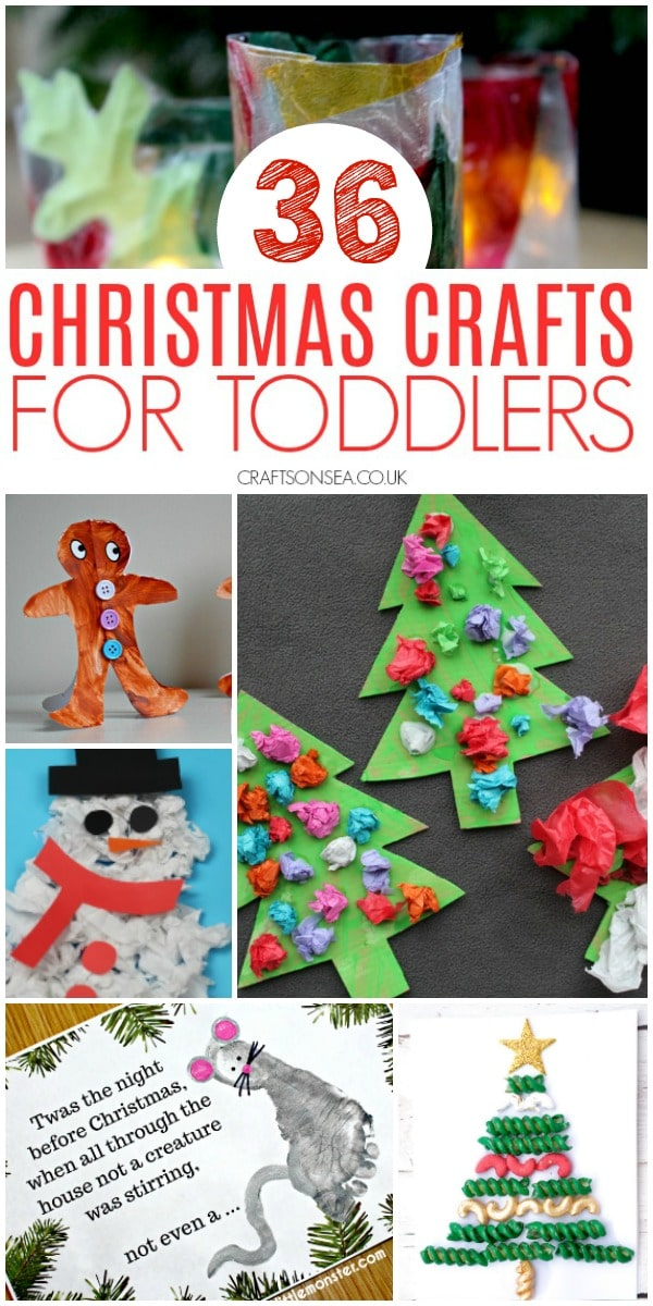 christmas crafts for toddlers preschool #christmascraftsforkids #toddler